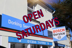 GARAGE OPEN SATURDAYS DORKING